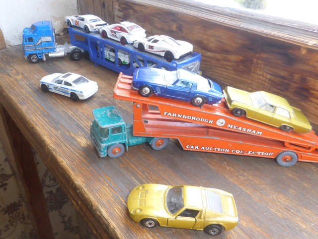 Car Transporters Yatming and Matchbox