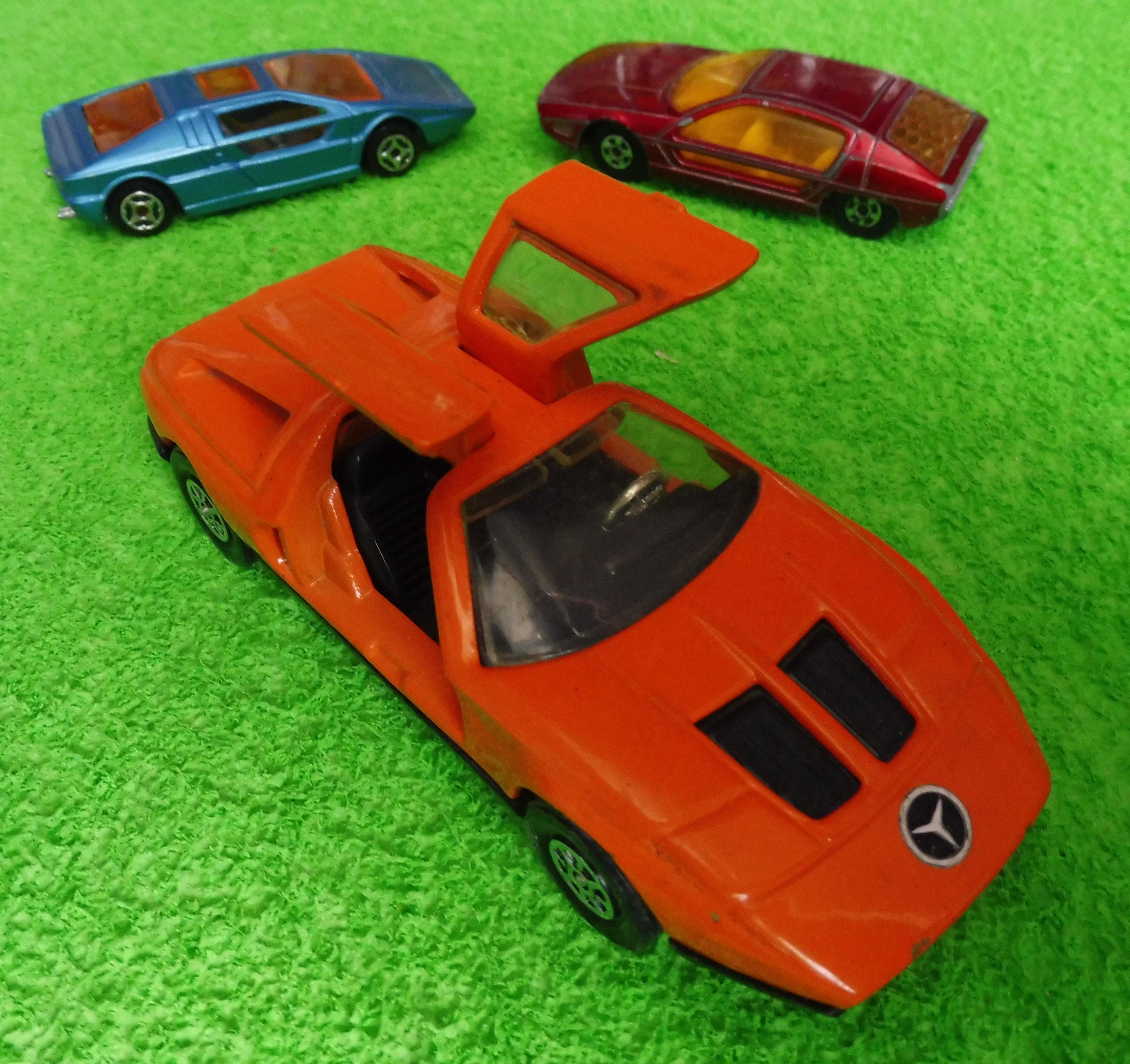 Concept Cars Mercedes C111 Lamborghini Marzal and Maserati Boomerang